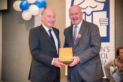 R Ingpen - presented Award